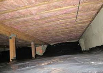 Crawl Space Insulation And Vapor Barrier